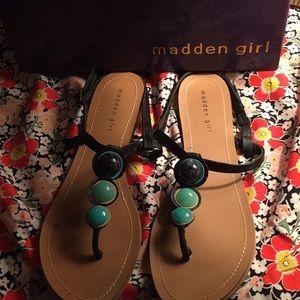 Brand new never worn Madden Sandals